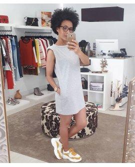 Shoulder Pads Dress