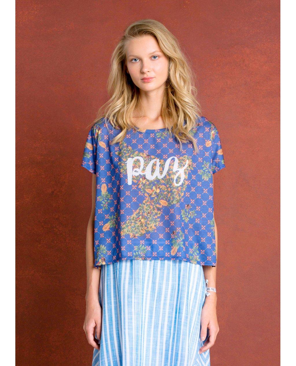 T-Shirt Silk Paz