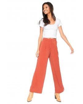 Calça Pantalona Crepe