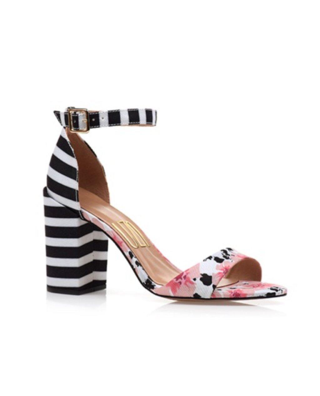 Sandália Block Heel